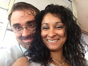 Marcellus and Lidia - Married August 15, 2013